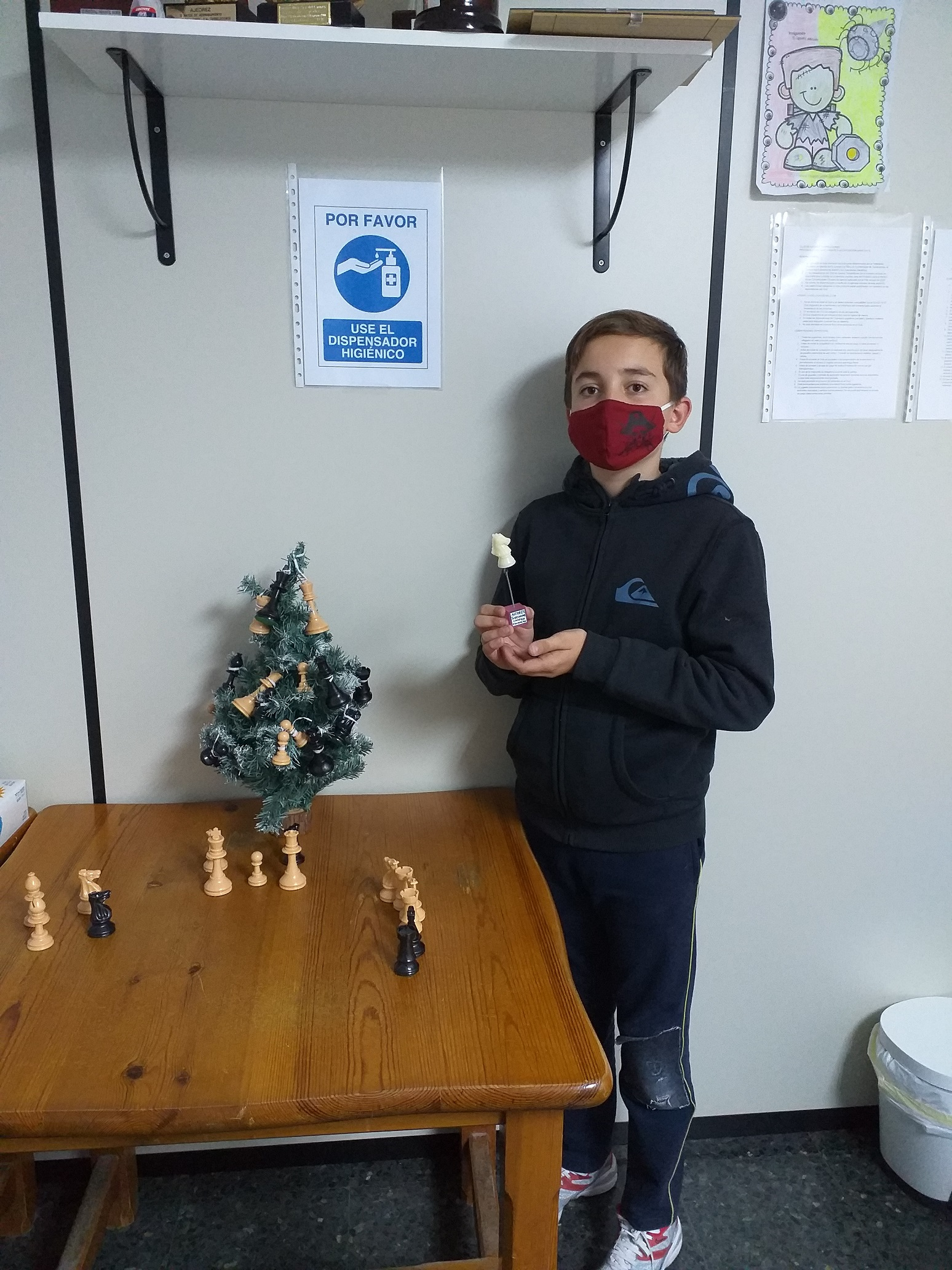Pablo se proclama campeón del Torneo Iniciación