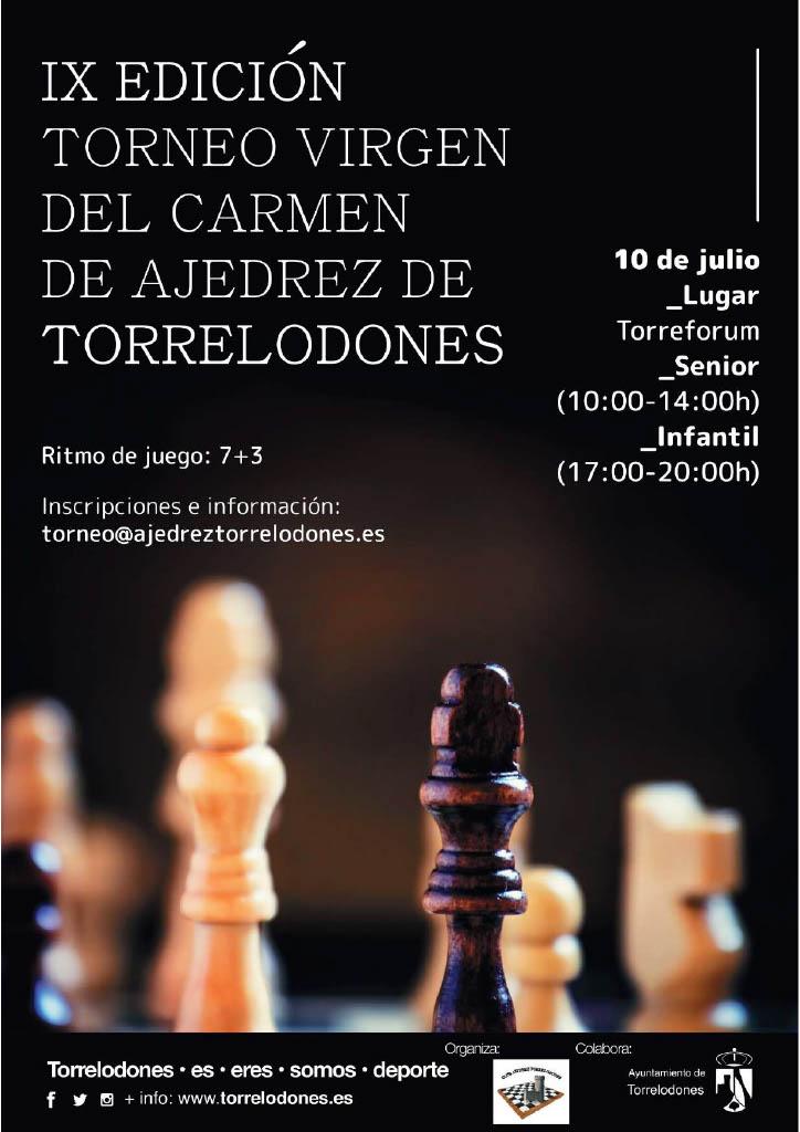 IX TORNEO DE AJEDREZ VIRGEN DEL CARMEN