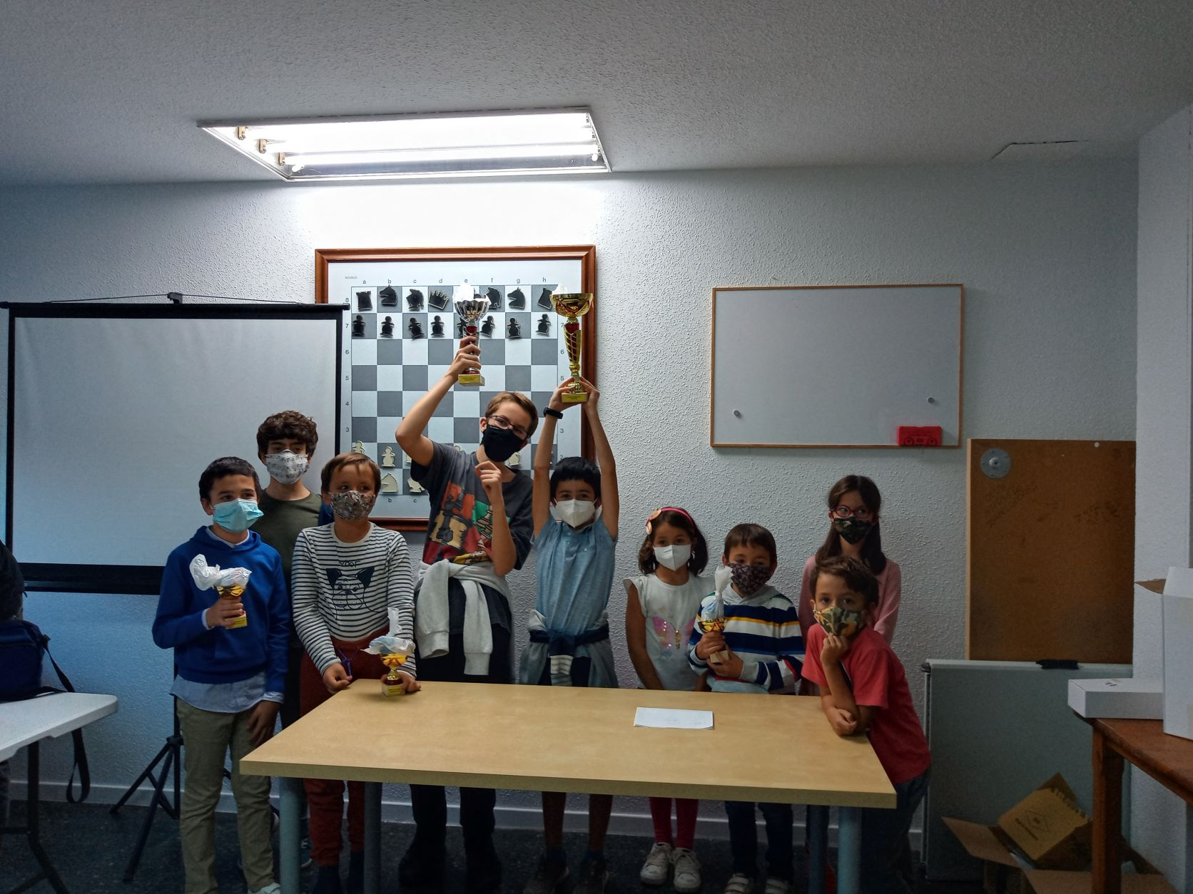 Marcos Collado, ganador del I Torneo Social Infantil